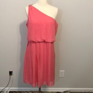 Adrianna Papell Dress Size 14 Pink